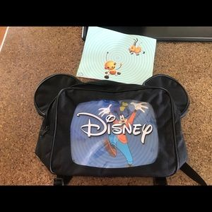 Disney Accessories - Black Disney Mickey Mouse Ears Backpack